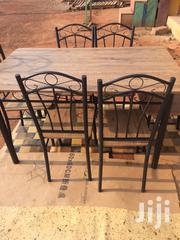 Wooden Table With 6 Chairs | Furniture for sale in Greater Accra, Dzorwulu