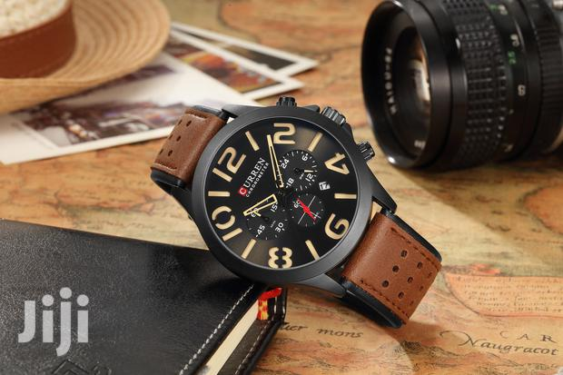 Archive: Analogue Curren Chronograph Quartz Men Watches