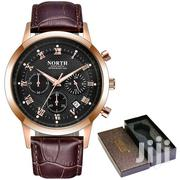 Chronograph Leather Fashion Business Watch | Watches for sale in Greater Accra, Achimota