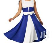 Flare Dress Blue and White | Clothing for sale in Greater Accra, Darkuman