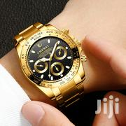 Classic Watch Gold Luxury Fashionable Waterproof | Watches for sale in Greater Accra, East Legon
