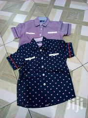 Fine Cotton Short Sleeves Shirts | Children's Clothing for sale in Greater Accra, North Kaneshie