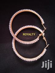 Round Pearl And Gold Hoops   Jewelry for sale in Greater Accra, Ga South Municipal