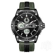 GOLDENHOUR Multifunctional Military Fabric Strap Watch   Watches for sale in Greater Accra, Achimota