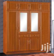Four Door Brown Wardrobe | Furniture for sale in Greater Accra, North Kaneshie