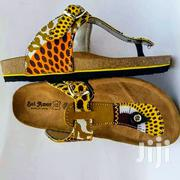 Quality African Print Slippers. | Shoes for sale in Brong Ahafo, Dormaa Municipal